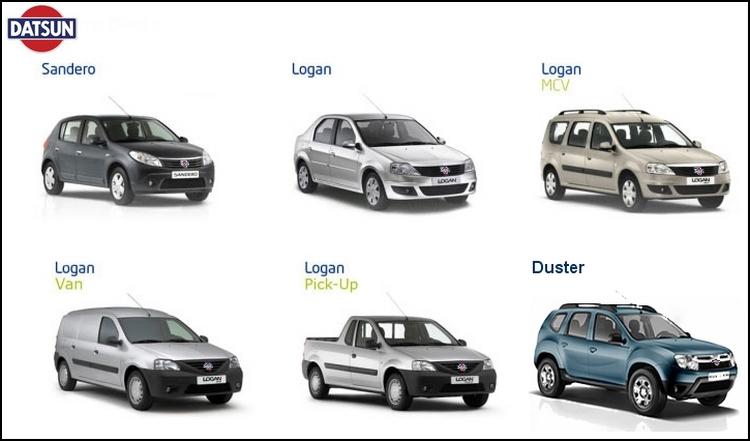 gamme Dacia blogautomobile.fr