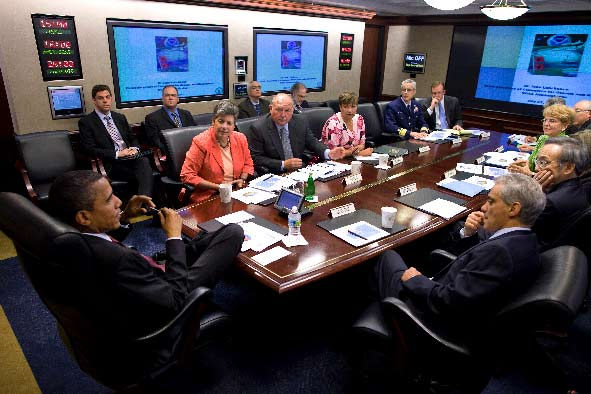 Obama SituationRoom scienceprogress.org