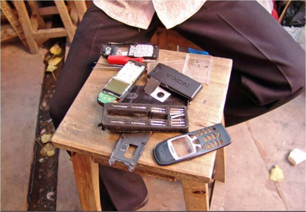 Mobile phone repairing institutes Jan Chipchase