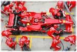 Ferrari pitcrew team work endeavor.com