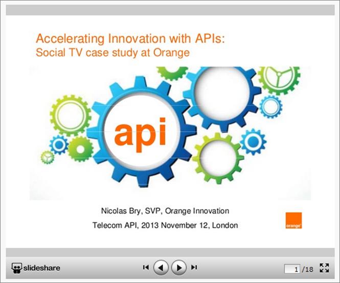Innovation & APIs