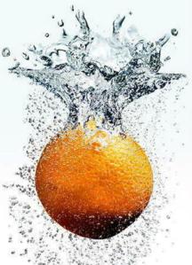 sparkling orange