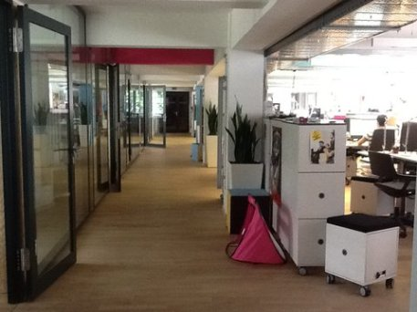 Hub:raum start-ups desks