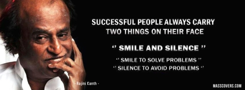 Success is smile and silence dontgiveupworld.com