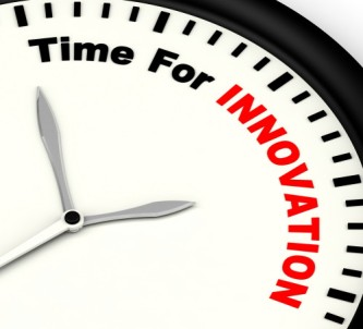 Time For Innovation Showing Creative Development And Ingenuity