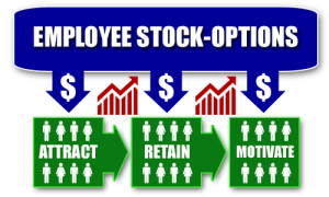 Stock options for startup companies