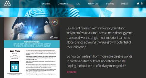 Rapid Innovation at Mash-Up London