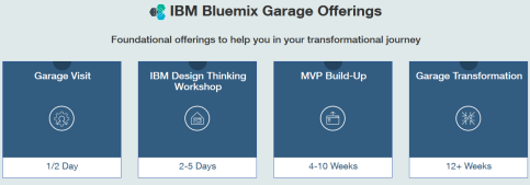 IBM Bluemix offerings