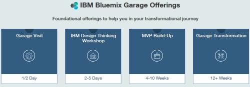 IBM Bluemix offerings