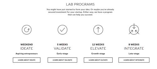 Infiniti Lab Programs