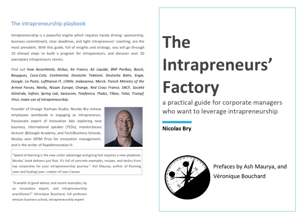 The Intrapreneurs' Factory - Cover 32 x 23 - 1915 x 1388 2019 November 12