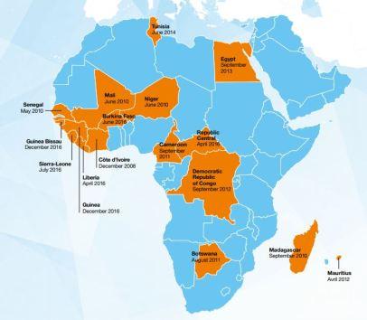 Orange Money map